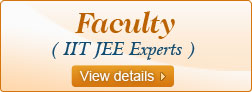 IIT JEE Experts, Faculty