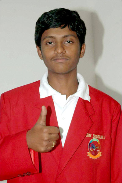 Prudhvi Tej Immadi who had secured an all India rank of 1 in IIT-JEE in 2011