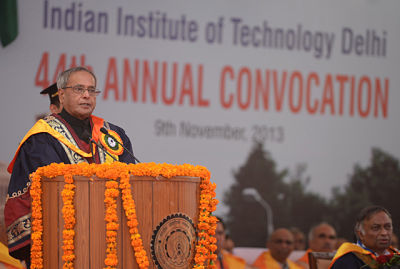 President Pranab Mukherjee Urges Universities to Regain Its Premier Position in Higher Education