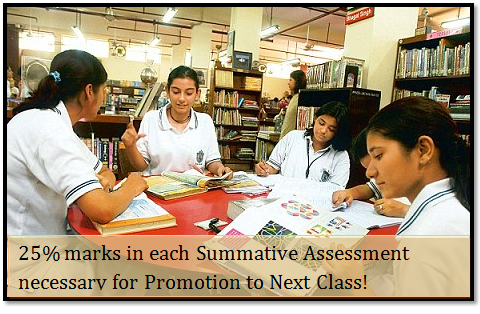 25% Marks in SAs Must for CBSE Students in Class IX and Class X for Promotion to Next Class