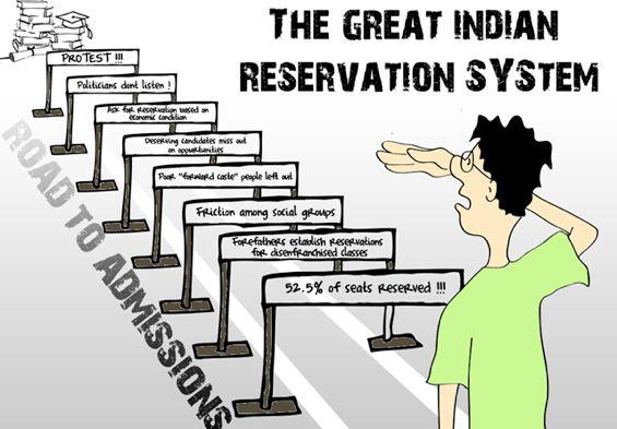 The Golden Crutches—Why Reservation in Indian Education System is a Bane for all?