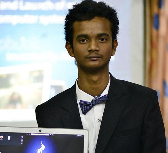 Schoolboy sets a record by inventing an all new computer system!