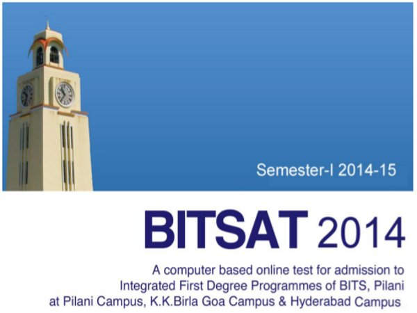 1.8 Lakh Students Registered for BITSAT 2014