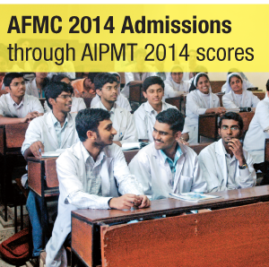 MBBS Applications at AFMC Begin on April 20th, 2014—AIPMT 2014 Scores to be considered