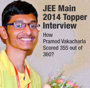 A Peek into the Life of the JEE-Main 2014 Topper—A Complete Story