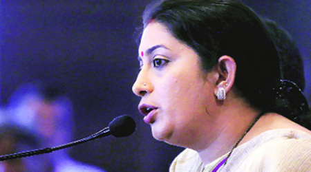 As private universities beat IITs in quantity of research papers, what say Ms. Irani?
