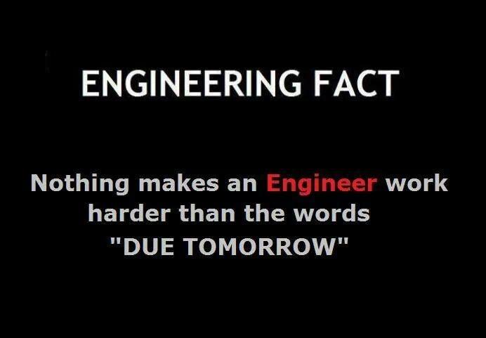 When Engineers Work Hard!