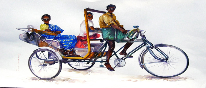 When a simple Rickshaw Wala outsmarted an IITian!