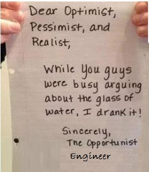 The Opportunist Engineer !