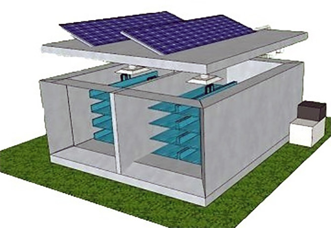 IITians Invent Again! This time a Solar Powered Cold Storage at ZERO Cost!