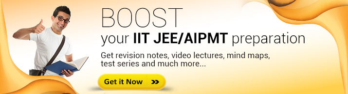 BOOST your IIT JEE/AIPMT preparation through our self study packages