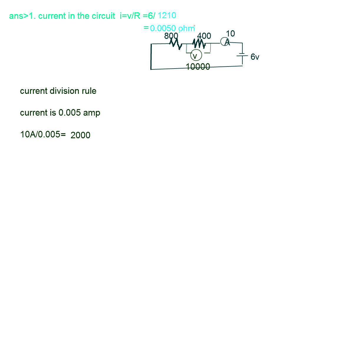 Electrostatics 97568 Two Resistors 400 Ohm And 800 Are Co Circuit Diagram Including A Battery Emf Capacitor C Resistor 201 730 7pg 1jpeg